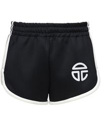 Telfar Shorts De Techno Stretch - Negro