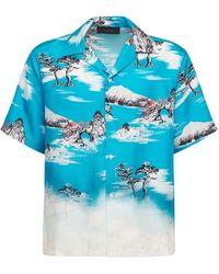 Amiri - Aloha シルクシャツ - Lyst