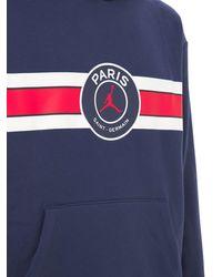 """Nike Fleece-hoodie """"jordan Psg"""" - Blau"""