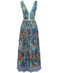 Le Sirenuse Sophia ドレス - グリーン