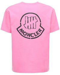 Moncler Genius - Undefeated コットンジャージーtシャツ - Lyst