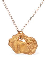 Alighieri Pig Zodiac Charm Chain Necklace - Multicolor