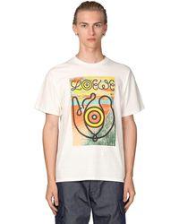 Loewe Eye//nature コットンジャージーtシャツ - ホワイト