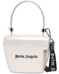Palm Angels トップハンドルバッグ - ホワイト