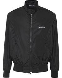 Valentino - ナイロンカジュアルジャケット - Lyst