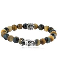Cantini Mc Firenze - Buddha Tiger's Eye Beaded Bracelet - Lyst