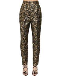 Dolce & Gabbana - ラメジャカードパンツ - Lyst