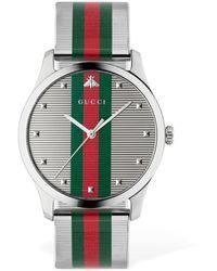 """Gucci Montre """"G-Timeless"""" - Métallisé"""