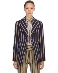 Vivienne Westwood - Striped Blazer - Lyst