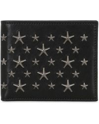 Jimmy Choo - Stars Studs Leather Wallet - Lyst