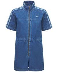 adidas Originals Overall Aus Denim - Blau