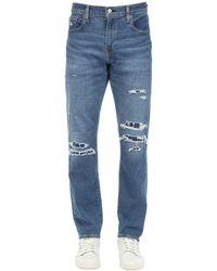 "Levi's Jeans""512"" De Denim De Algodón - Azul"