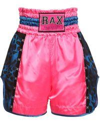 Redemption Athletix Nylon Boxing Shorts - Multicolour