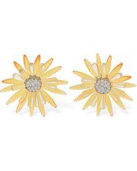 Valet Studio Scarlett Stud Earrings - Yellow