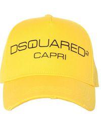 DSquared² - コットンキャンバスベースボールキャップ - Lyst