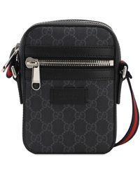 Gucci Gg Supreme Small Crossbody Bag - Schwarz