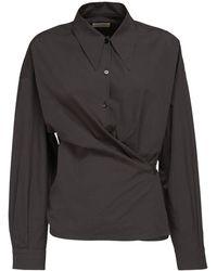 Lemaire コットンシャツ - グレー