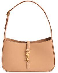 Saint Laurent Le 5 À 7 Leather Hobo Bag - Multicolour