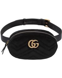 fac9551c3b6 Gucci Small Gg Marmont Belt Pack W  Appliqués in White - Lyst