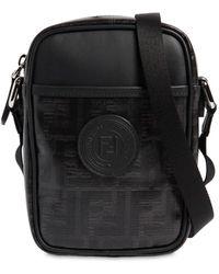 Fendi - Logo Print Cross Body Bag - Lyst