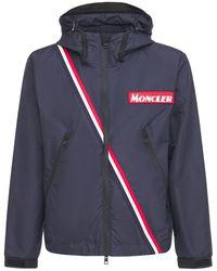 Moncler Trakehner ナイロンジャケット - ブルー