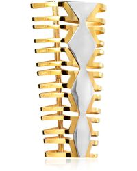 Monica Sordo Mali Cuff Bracelet - メタリック