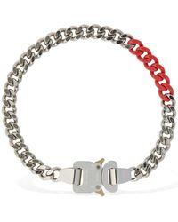 1017 ALYX 9SM Farbige Halskette Mit Gliedern Und Schnalle - Mehrfarbig