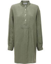The Sleep Shirt - リネンパジャマシャツ - Lyst