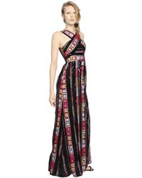 Pat Bo - Embellished Organza Dress - Lyst