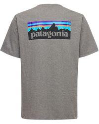 Patagonia P-6 Responsibili-tee Tシャツ - グレー