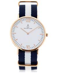 KAPTEN & SON - 40mm Sail Watch - Lyst