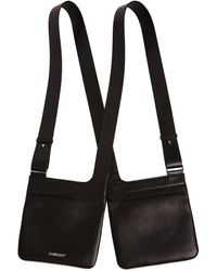 Ambush Double Crossbody Bag - Black