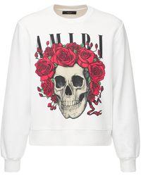 Amiri Grateful Dead Bones ジャージースウェットシャツ - ホワイト
