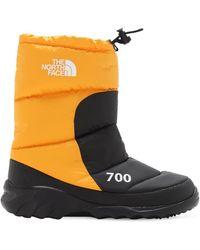 The North Face Зимние Сапоги Nuptse 700 - Желтый