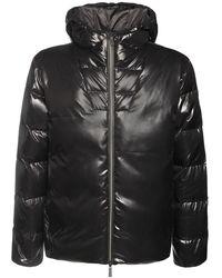 EA7 Куртка С Капюшоном - Черный