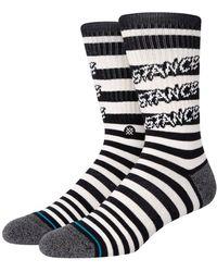 Stance Socken Aus Baumwollmischgewebe - Schwarz