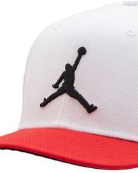 Nike Бейсболка Jordan Pro Jumpman - Белый