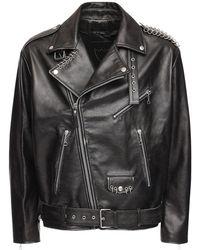 Htc Los Angeles - Куртка Из Кожи - Lyst