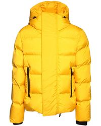 DSquared² Куртка Из Нейлона С Капюшоном - Желтый