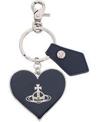 Vivienne Westwood Windsor Mirror Heart Gadget - Blue