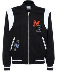 Marcelo Burlon Mb College コットンツイルバーシティジャケット - ブラック