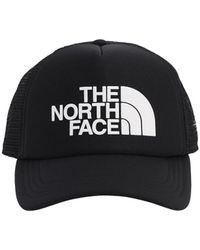 The North Face Tnf Logo Trucker Hat - Black