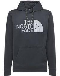 The North Face Kapuzenpullover Mit Logodruck - Grau