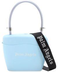 Palm Angels Sac À Main Avec Logo Imprimé - Bleu