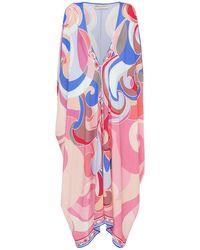 Emilio Pucci Платье Из Шелка - Многоцветный