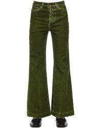 Gucci Jeans Aus Baumwolldenim - Grün