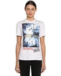 Versace - グラフィック Tシャツ - Lyst