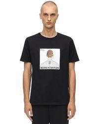 Neil Barrett Head コットンジャージーtシャツ - ブラック