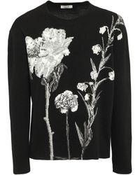 Valentino - Floral ウール&カシミアセーター - Lyst