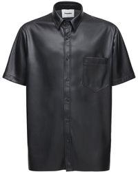 Nanushka - エコレザーシャツ - Lyst